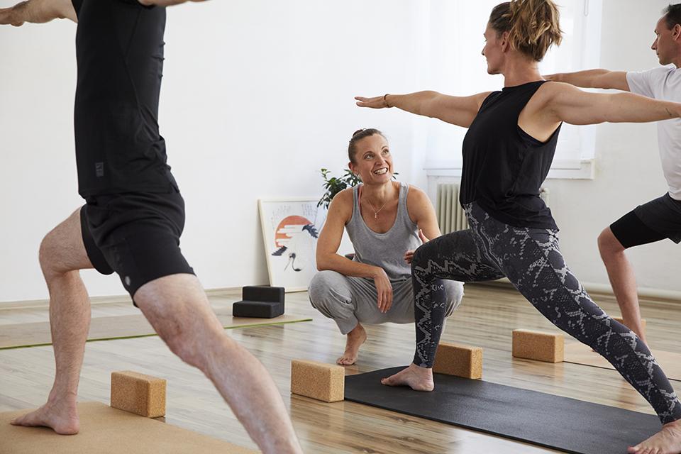 Yoga mit Kristina Reich-Simmons im Studio 1 in Pforzheim